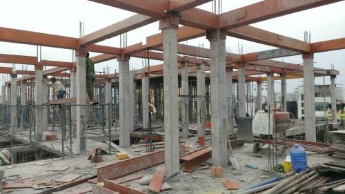 Công trình nhà cho thuê 4 tầng